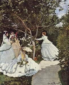 Mulheres no Jardim - 1866